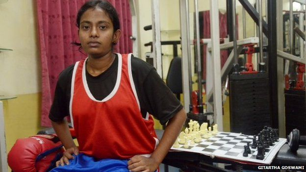 Chess boxer in India