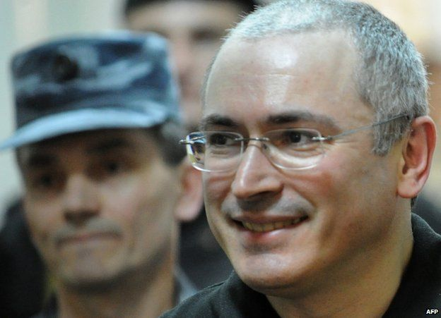 Mikhail Khodorkovsky in court in Moscow, 3 June 2011