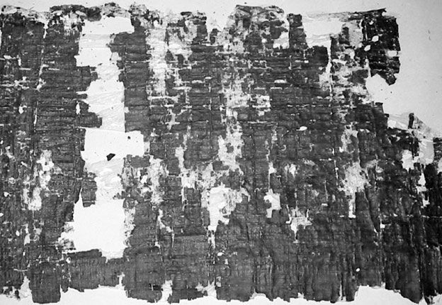 Papyrus On the Good King (in normal light)