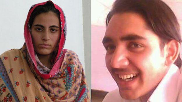 Rukhsana and her husband Mohammad
