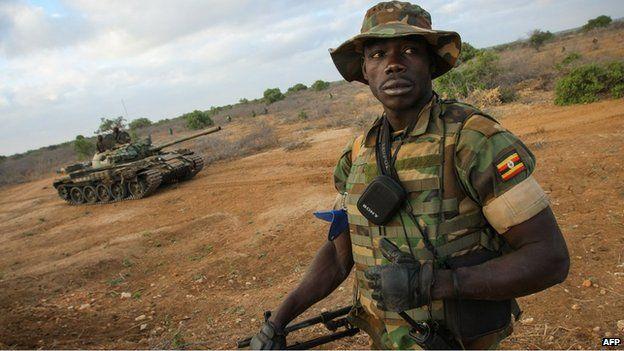 Uganda soldier (file photo)