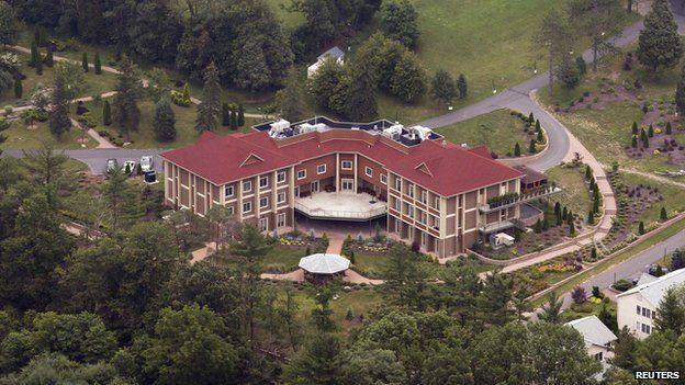 Fethullah Gulen's residence