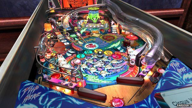 FarSight Circus Voltaire game