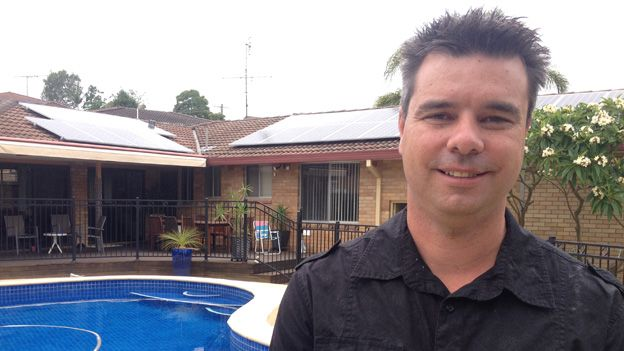 David Pugh, owner of Solar Forca