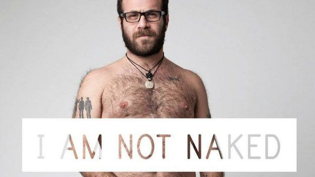 Photo posted on I Am Not Naked Facebook page