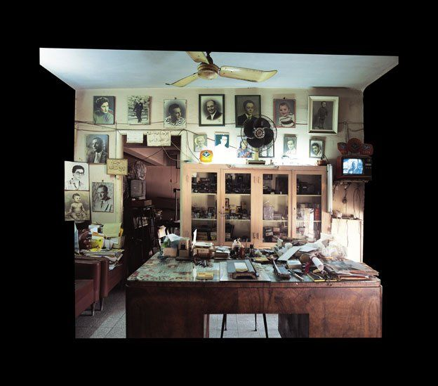 photo of the photographer's studio
