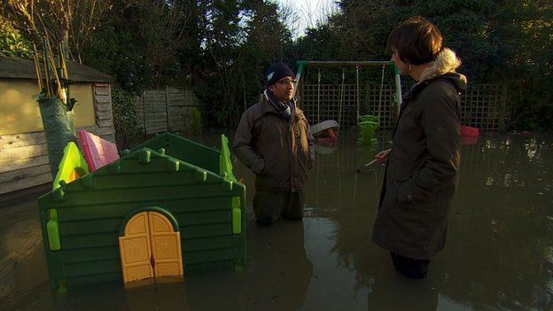Ham Sandhu standing outside his house in Wraysbury