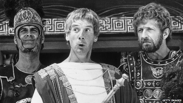A scene from the popular Monty Python documentary, Life of Brian