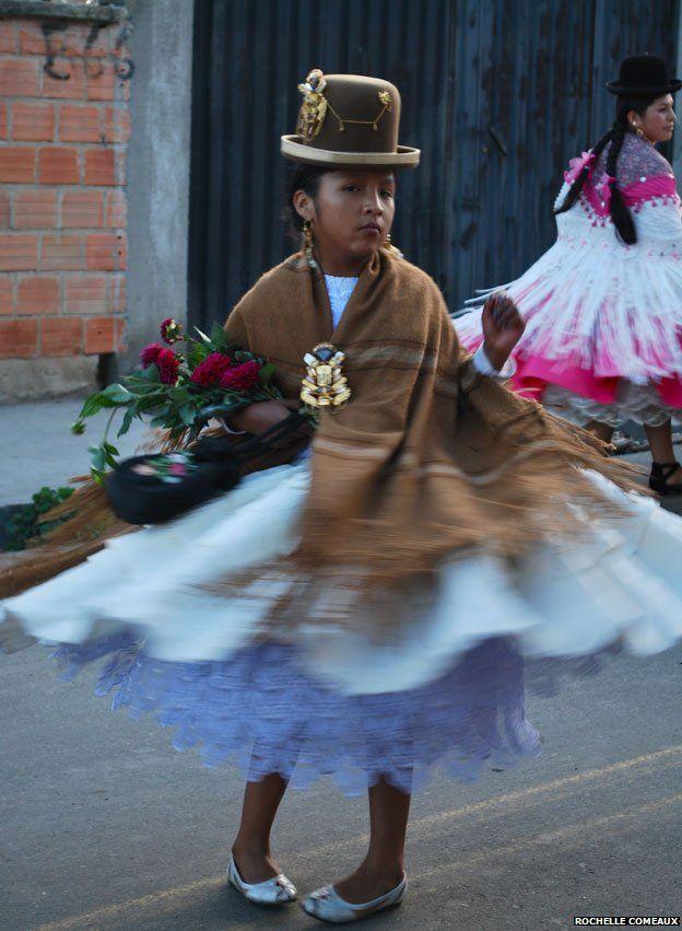 Cholita at Malassa festival