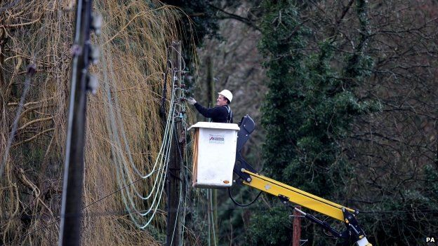 Mending power cables
