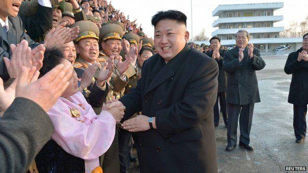 File photo: North Korean leader Kim Jong-un