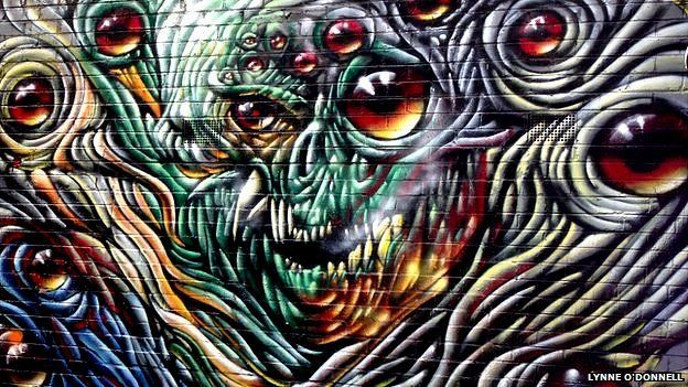Graffiti in Croft Alley
