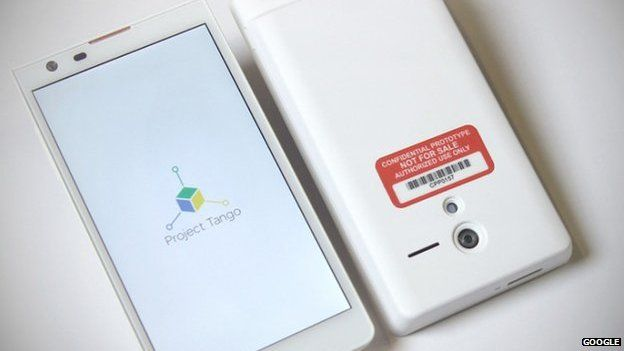 Google Tango phone