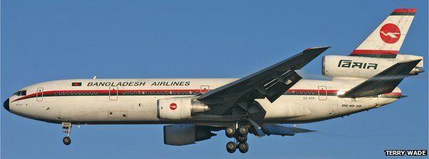 Biman Bangladesh Airlines DC-10
