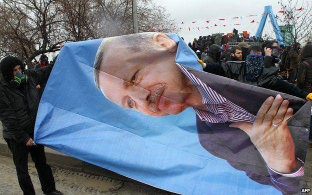 Protesters in Ankara (25 Feb)