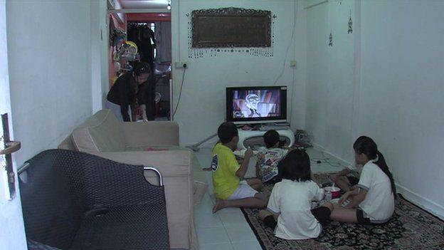 Family flat of Nurhaida Binte Jantan