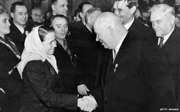 Nikita Khrushchev (file pic)