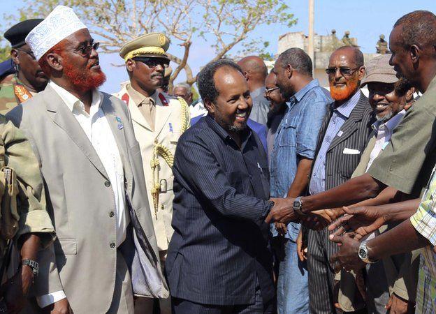 Somalia's President Mohamud