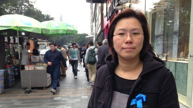 Phyllis Tsang of Ming Pao