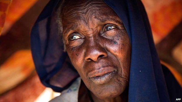 Refugee in Darfur