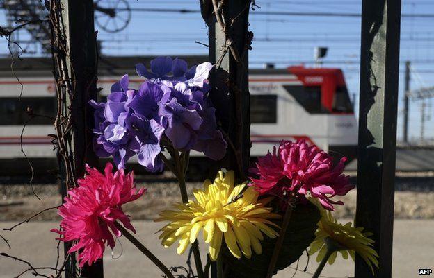 Flowers in Tellez St in Madrid