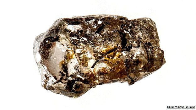 Diamond sample from Juina