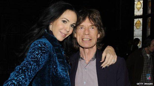 Jaggers wife mick Mick Jagger