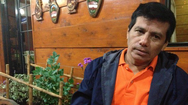 Israel Ticas, El Salvador's only forensic archaeologist