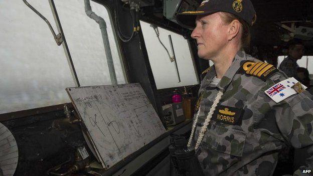 HMAS Success Capt Allison Norris, 23 March