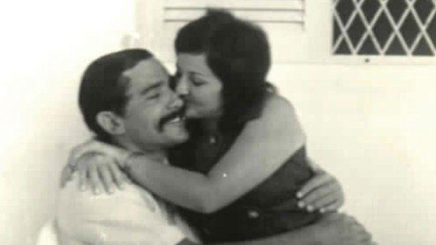 Inocencio Uchoa and his wife Angela