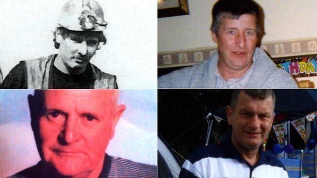 Garry Jenkins, Philip Hill, Charles Breslin, David Powell