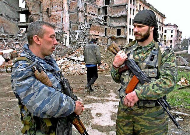 Russian special police Grozny 2001