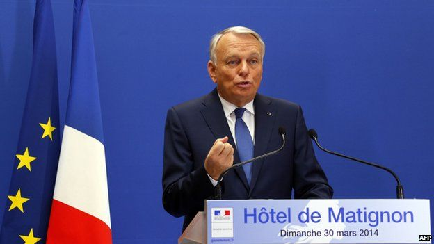 French Prime Minister Jean-Marc Ayrault, 30 Mar 14