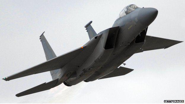 USAF F-15 jet