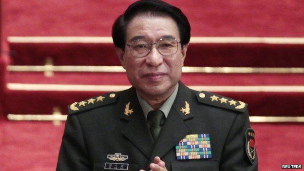File photo: Xu Caihou, 14 March 2012