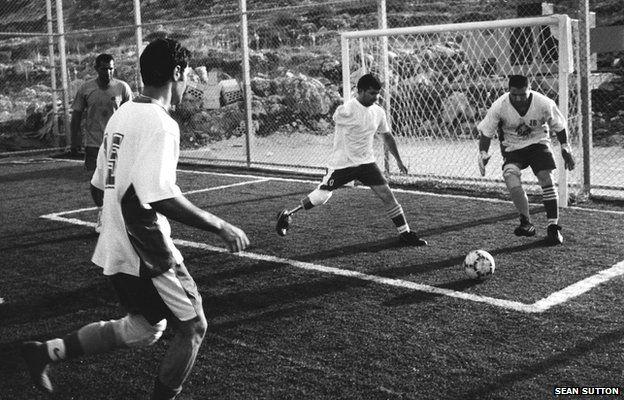 Lebanese football team, 2005