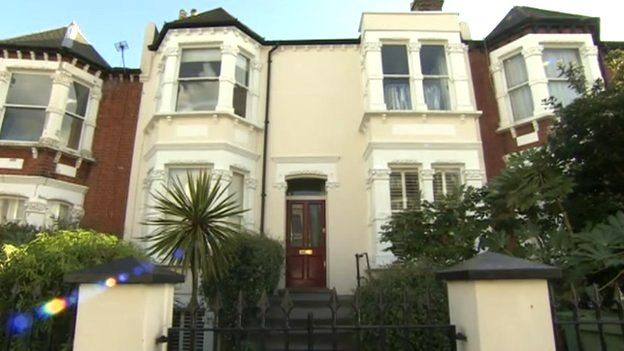 Maria Miller's former London home