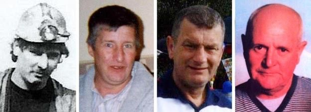 Garry Jenkins, 39, Philip Hill, 44, David Powell, 50, and Charles Breslin, 62,