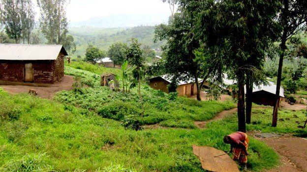 A suburb of Rutshuru
