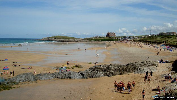 Fistral in Cornwall