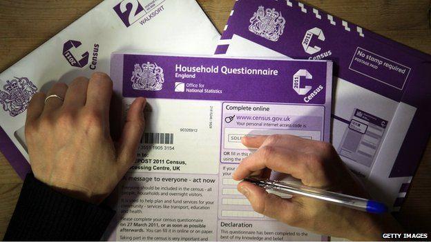 2011 census form