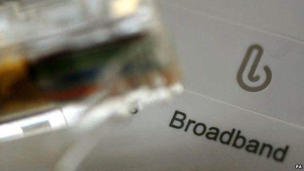 Broadband box and cable