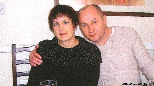 Malgorzata Dantes (left) and her husband Leszek Dantes (right)