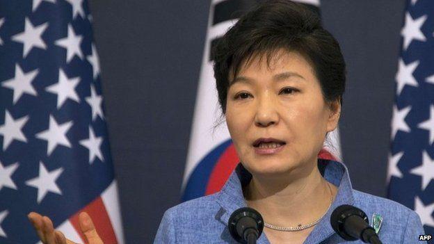 File photo: South Korean President Park Geun-hye