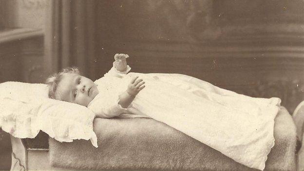 Ann as a baby
