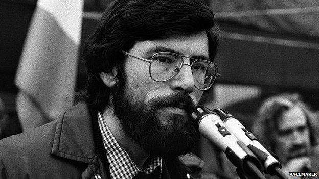 Gerry Adams in 1980