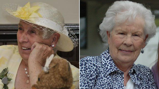 twins Ann Hunt and Elizabeth Hamel now