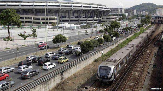 Train in Rio