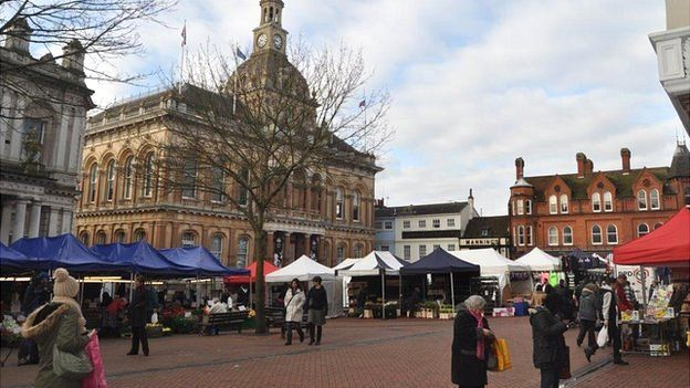 Ipswich town centre