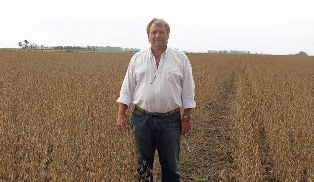 Alejandro Ferrero in his field